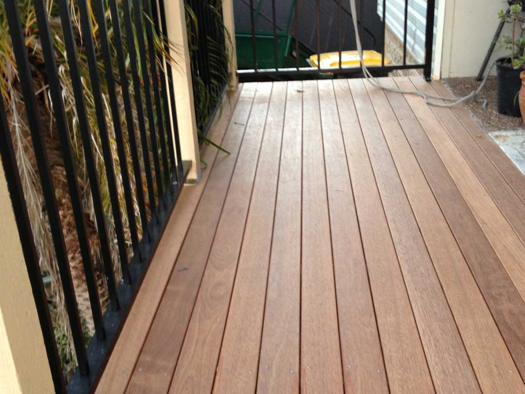 Deck replaced by Urban Box Renovations