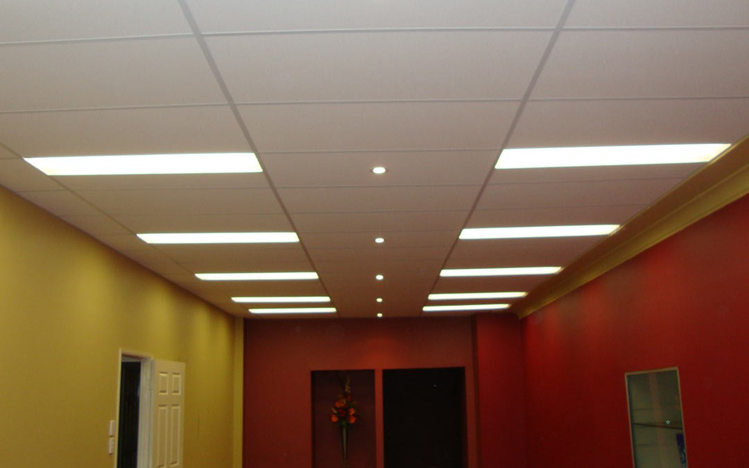 Suspended Ceilings in Commercial Shop Front