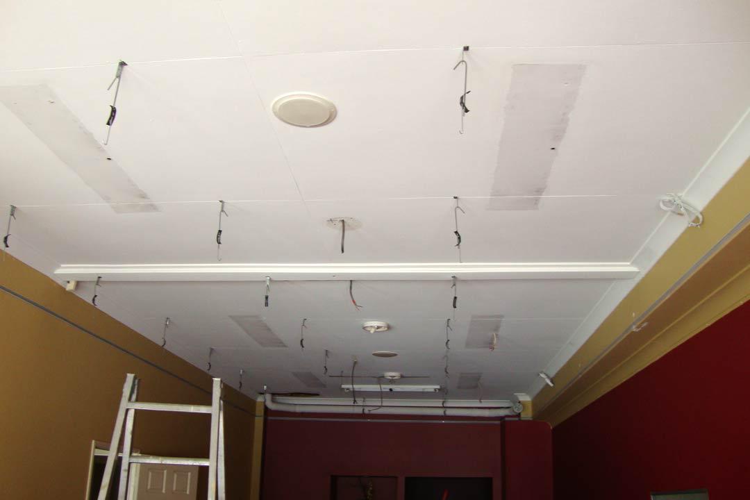 Suspended Ceilings Before